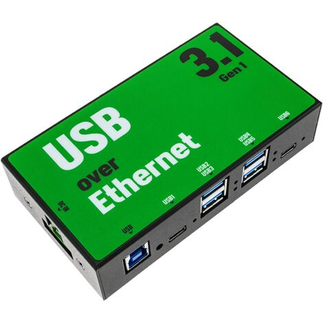 AnyPlaceUSB - AnyPlaceUSB USB 3.1 SuperSpeed sharing over TCP/IP network 6-port
