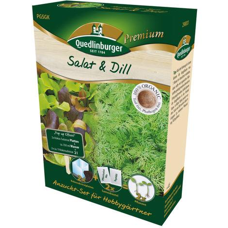 Anzucht-Set Salat und Dill