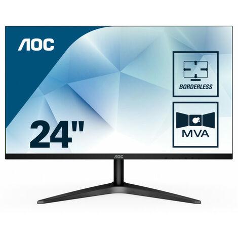 AOC Basic-line 24B1H - 59,9 cm (23.6) - 1920 x 1080 pixels - Full HD - LED - 5 ms - Noir (24B1H)