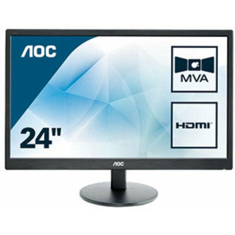 AOC Basic-line M2470SWH - 59,9 cm (23.6) - 1920 x 1080 pixels - Full HD - LED - 5 ms - Noir (M2470SWH)