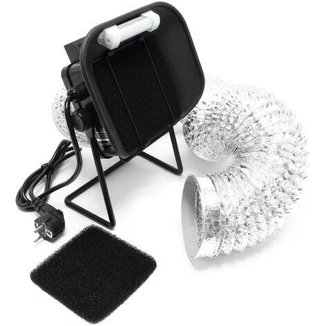 AOYUE 486+ Lötrauchabsaugung mit LED Beleuchtung Absaugung Löten Tischversion