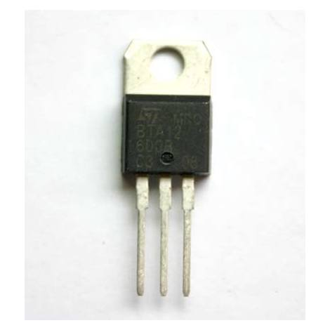 Aoyue - 890037 BTA12 600B TRIAC TO220