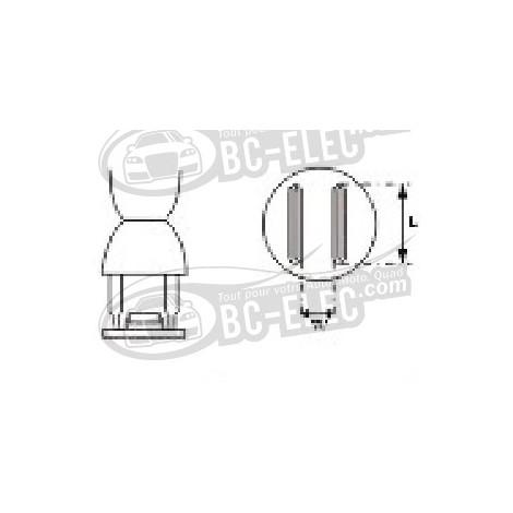 Aoyue - 91133 Embout à air chaud, parallèle 7.5mm*15mm