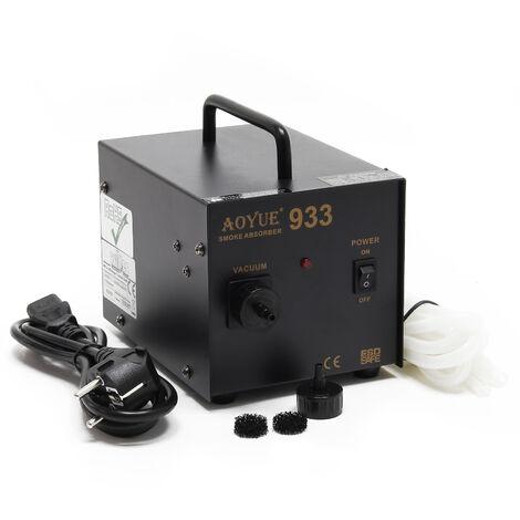 AOYUE 933 - Extractor humos de soldadura con elementos filtrantes para estación de soldadura