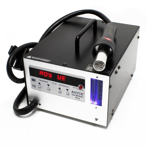 AOYUE Int852A+ Estación aire caliente digital SMD Retrabajo Rework Desoldar Pistola