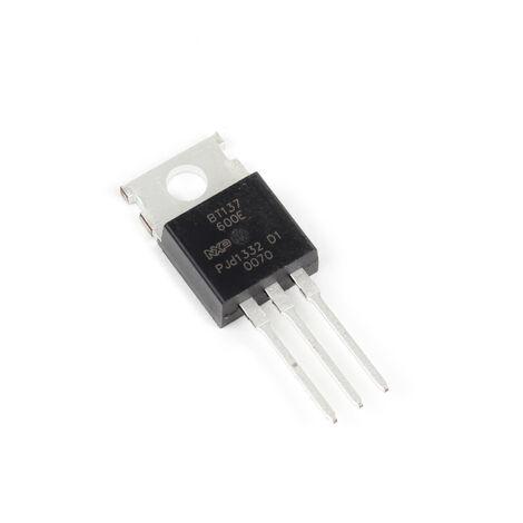 AOYUE Pieza de repuesto BT137 600E Transistor Triac
