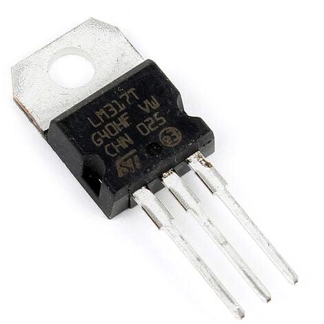 AOYUE Pieza de repuesto LM317 TO-220 Regulador de tensión