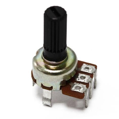 AOYUE Potenciómetro de repuesto con eje ranurado 10k 6mm para estaciones de soldadura de componentes