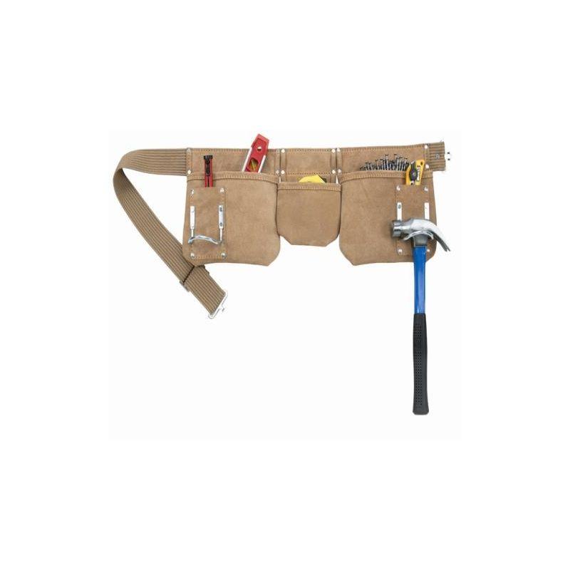 Image of Kuny - AP-1300 Carpenters Apron 5 Pocket Suede Leath