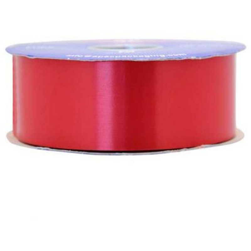 Image of 100 Yard Polypropylene Balloon Ribbon (12 Colours) (One Size) (Red) - Apac