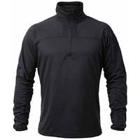 Apache ATS black 1/4 zip mid-layer technical knit fleece size XL