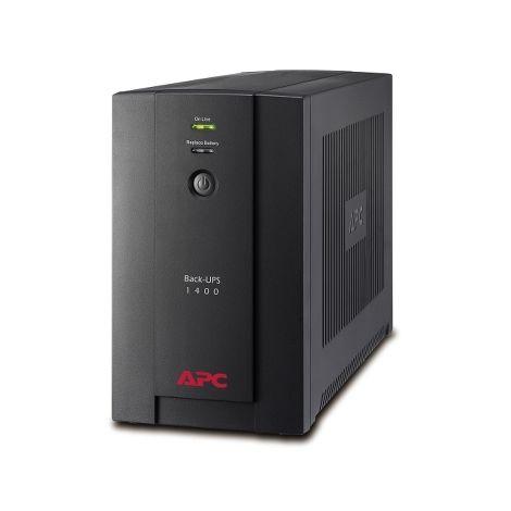 APC BACK-UPS 1400VA 230V AVR Schuko Sock SCHNEIDER ELECTRIC BX1400U-GR