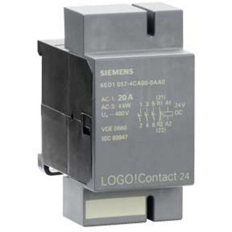 API - Module dextension Siemens LOGO! Contact 230 6ED1057-4EA00-0AA0 230 V/AC 1 pc(s)