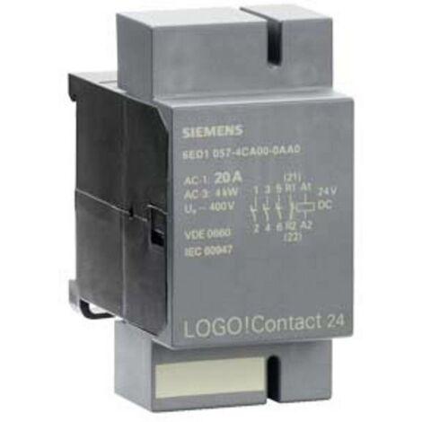 API - Module dextension Siemens LOGO! Contact 24 6ED1057-4CA00-0AA0 24 V/DC 1 pc(s)