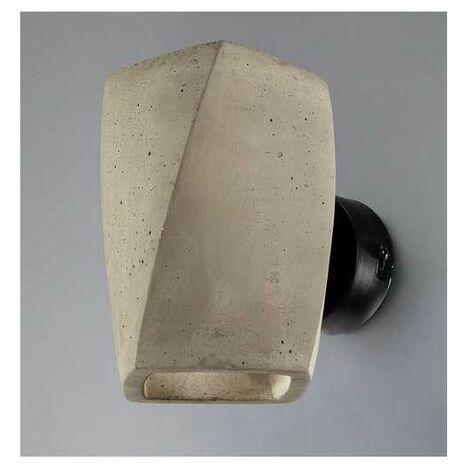 Aplique 2 luz SERIE GHERY ACABADO cement-black