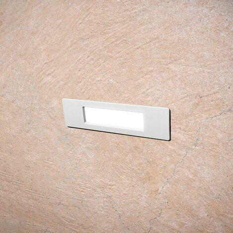 Aplique baliza LED empotrable FUMAGALLI NINA 190 R7S 4W IP55
