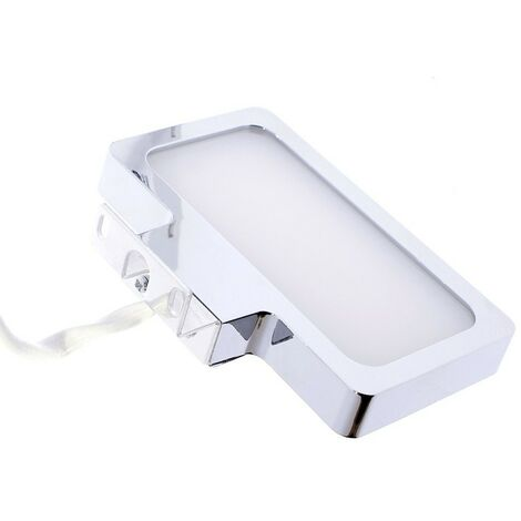 Aplique baño led 6w 5700K toledo cromo CRISTALRECORD 43-146-06-001