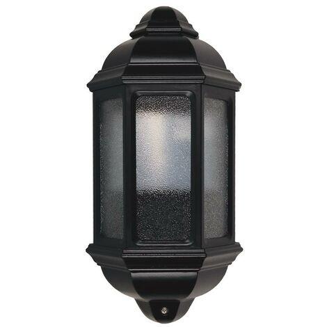 Aplique clásico MEDI IP43 E27 42W Negro DOPO 194A-G05X1A-02