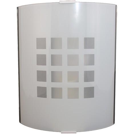 Aplique Cuadri Color: Blanco