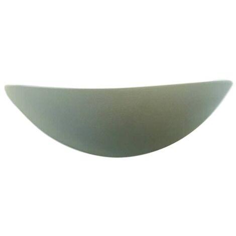 """main image of """"Aplique de cerámica pintable Virgola Liberti Design VIRGOLA"""""""
