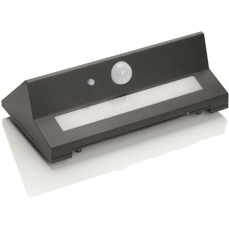 Aplique de exterior LED solar Kristiana con sensor