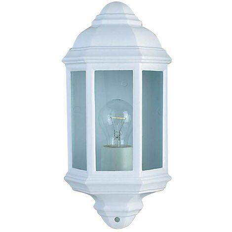 Aplique de exterior y veranda blanco blanco BLANCO aluminio DISCO DE VIDRIO regulable IP44