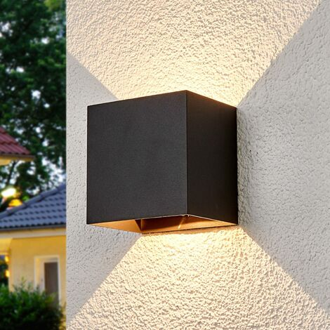 Aplique de exteriorEvie con LEDs