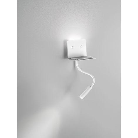 "main image of ""Aplique de pared blanco con 2 luces LED PERENZ PERENZ-6636BLC"""