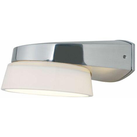 Aplique de pared de diseño espejo de baño en cristal proyectores en cromo de iluminación Nordlux 72721001