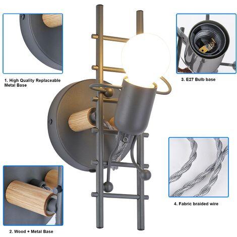 """Aplique de Pared Decorativo \""""Doll Ladder\"""" E27"""