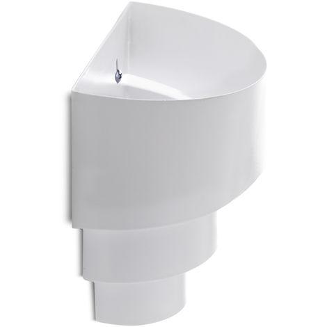 Aplique de Pared E27 Blanco (Sin Lámpara) Lillian [HO-E27WALLLIGHT-E-W] | Sin Bombilla/Ver Accesorios (HO-E27WALLLIGHT-E-W)