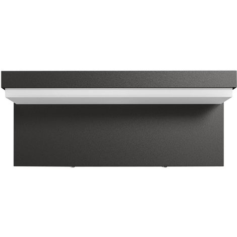 APLIQUE DE PARED EXTERIOR LED MELISSA PHILIPS 9W 4000K