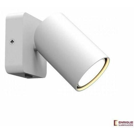 Aplique de pared / foco con interruptor SAL | Blanco - 0