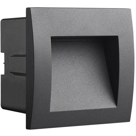 Aplique de pared IP65 SEVILLA para balizamiento exterior 3W | Temperatura de color: Blanco cálido 3000K