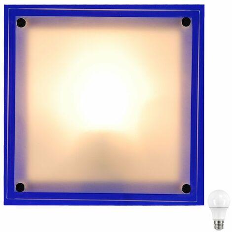 Aplique de pared lámpara de cristal IP20 Aplique de sala E27 en el set incluyendo bombillas LED