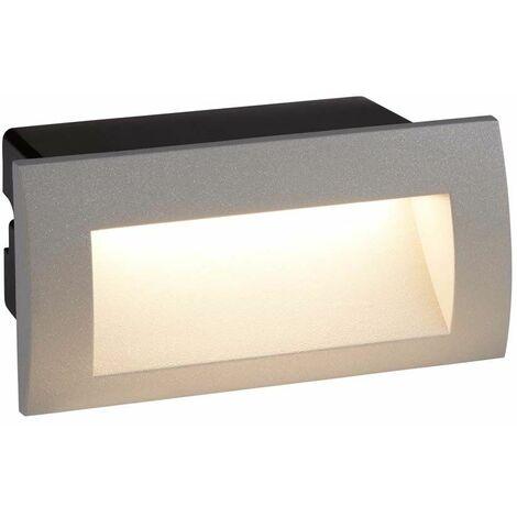 Aplique de pared LED orientable 1W, brazo Flexi, cromado 3000K 24 lúmenes cromado