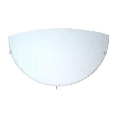 Aplique de pared media luna LED blanco 1xE27 GSC 0701995