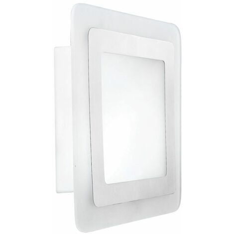 Aplique de pared natural 1 bombilla de jardín con iluminación exterior E27 exterior blanco plateado IP44 Globo 32078