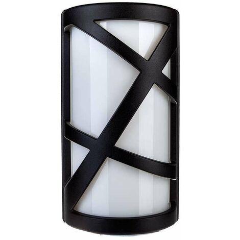 Aplique de pared para bombilla LED E27 IP54 Gris Mate