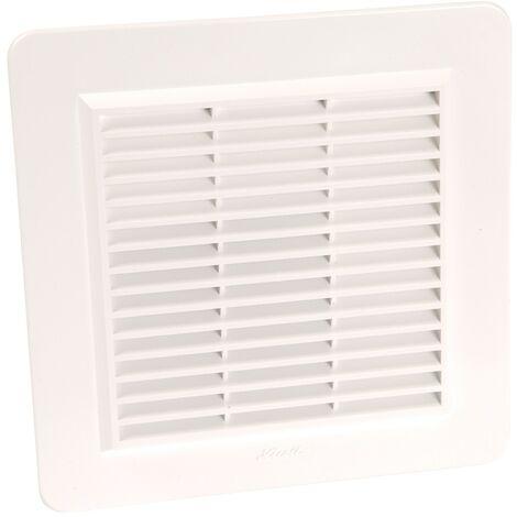 Aplique de PVC con mosquitera: Rectangular horizontal 226x323, blanco