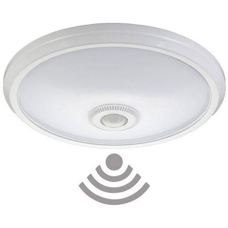 Aplique de superficie Led con sensor y luz de emergencia 16W EDM -Disponible en varias versiones