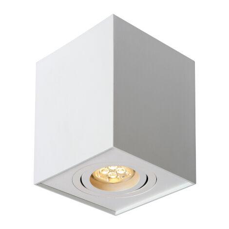 Aplique de techo cuadrado modelo Chloe blanco cuadrado GU10 96x96mm. (Spectrum SLIP004005)