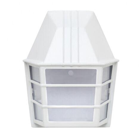 Aplique exterior Lavanda blanco 23,5x19,5x11 - Blanco