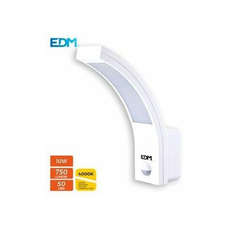 Aplique exterior led 10w con sensor -Disponible en varias versiones