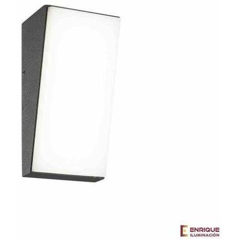 Aplique exterior led blanco alargado Solden | Blanco