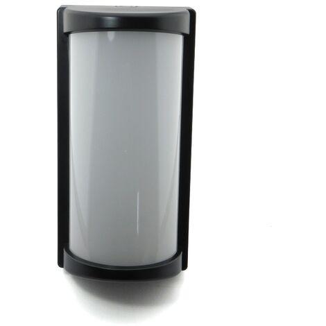 Aplique Exterior LED IP65 Negro 20W Luz Fria