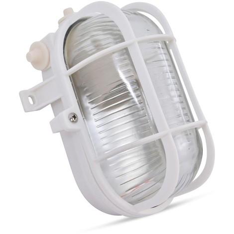 Aplique exterior oval tortuga E27 IP44