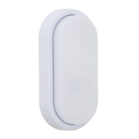 Aplique Exterior Surf Oval Blanco