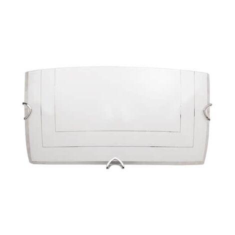 Aplique Fenicia blanco 30x15 - Blanco