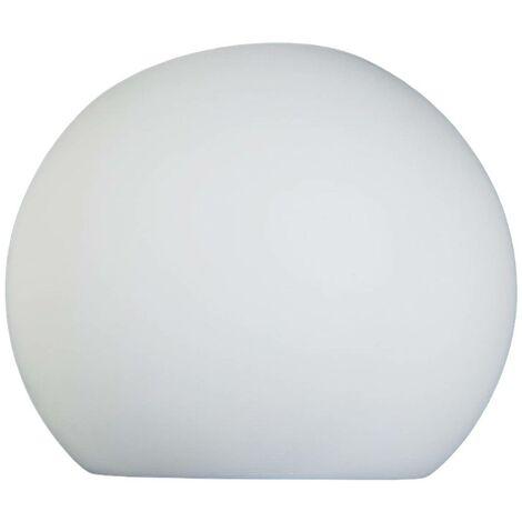 Aplique halógenoElina de yeso en forma esférica